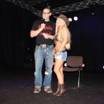 Auf der Bühne mit Moderator Marco