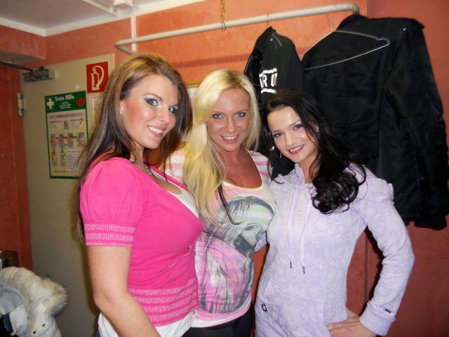 Sexy Show mit Maria, Vivane, Aische und mir