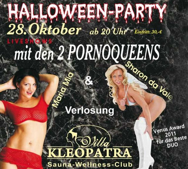 "Halloween Party in der Villa "" Kleopratra """